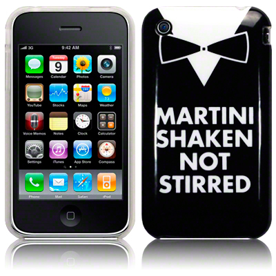 Back Cover iPhone 3G/3Gs Martini Shaken
