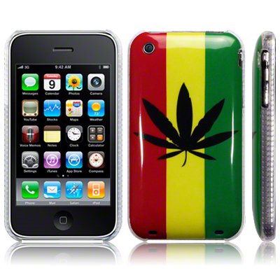 Back Cover iPhone 3G/3Gs Rasta