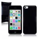 Back Cover iPhone 5C Solid Black