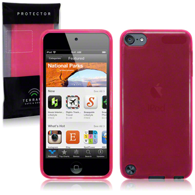 Back Cover ipod touch 5 Hot pink