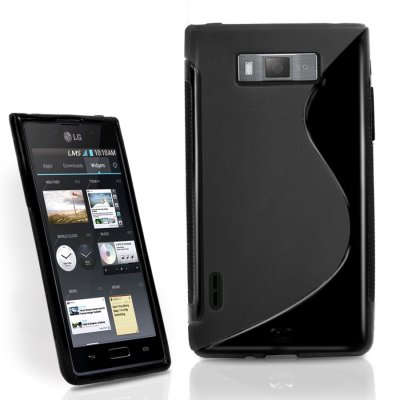 Back Cover Optimus L7 Style Black