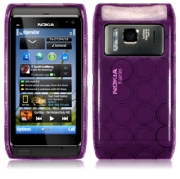 Back Cover N8 Purple