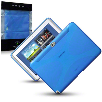 Back Cover Galaxy Note 10,1 Blue