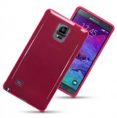 Back Cover Galaxy Note 4 Hot Pink