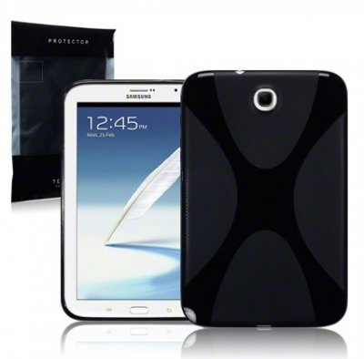 Back Cover Galaxy Note 8,0 Solid Black