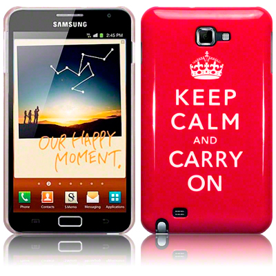 Back Cover Galaxy Note Keep Calm