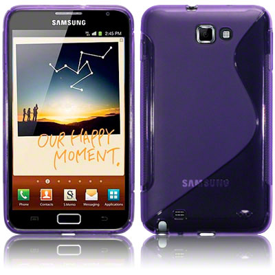 Back Cover Galaxy Note Style Purple
