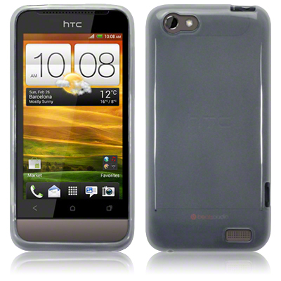 Bakskal HTC One V Frosted White