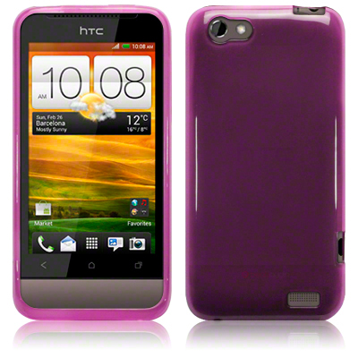 Bakskal HTC One V Pure Purple