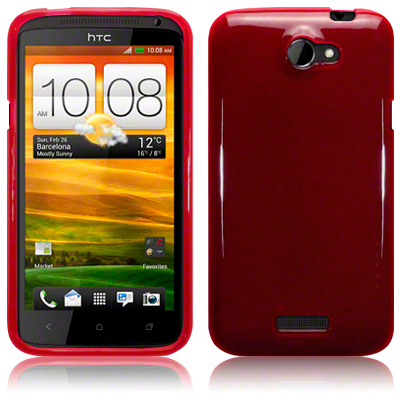 Bakskal HTC One X/One X Plus Red