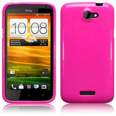 Bakskal HTC One X/One X Plus Solid Pink