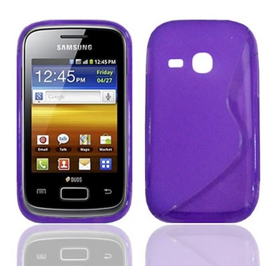 Back Cover S6310 Galaxy Young Style Purple