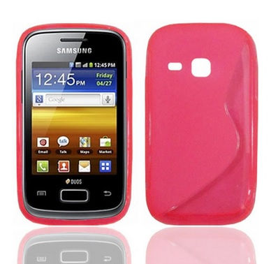 Back Cover S6310 Galaxy Young Style Pink