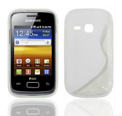 Back Cover S6310 Galaxy Young Style White