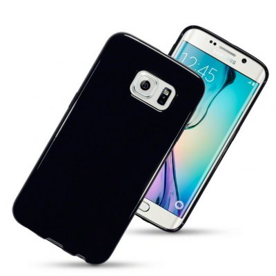 Mobilskal Samsung Galaxy S6 Edge Solid Black