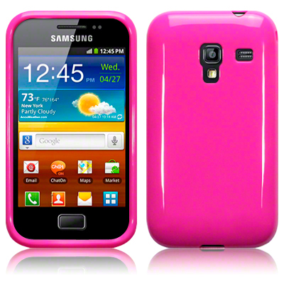 Back Cover S7500 Galaxy Ace Plus Solid Pink