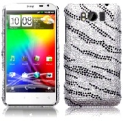 Bakskal HTC Sensation XL Diamond Zebra