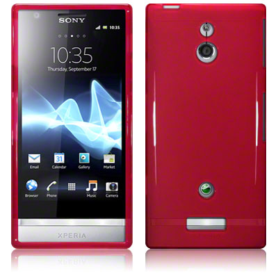 Back Cover Xperia P Red