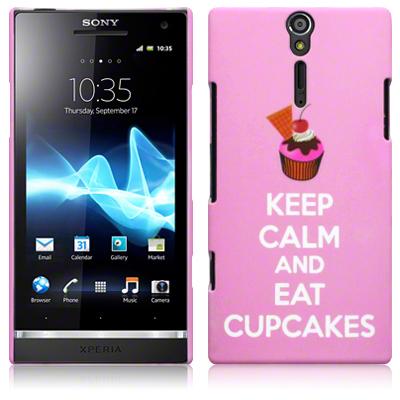 Back Cover Xperia S Eat Cupcakes