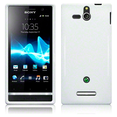 Back Cover Xperia U Solid White
