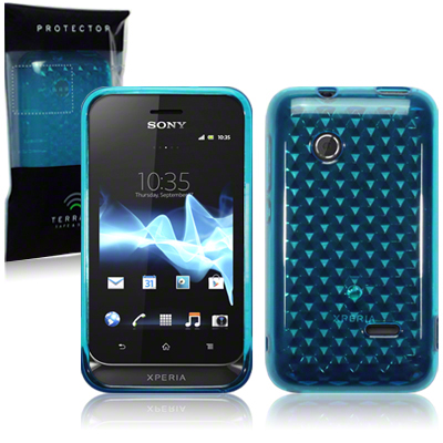 Back Cover Xperia Tipo Ocean Turquoise