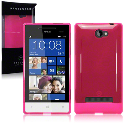 Bakskal Windows Phone 8S Hot Pink