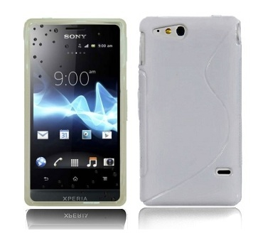 Back Cover Xperia GO Style White