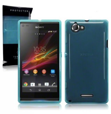 Back Cover Xperia L Ocean Turquoise