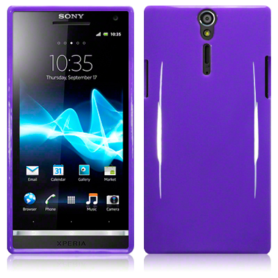 Back Cover Sony Xperia S Solid Purple