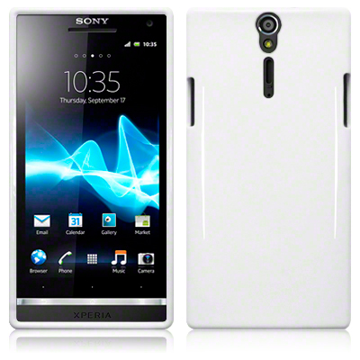 Back Cover Sony Xperia S Solid White