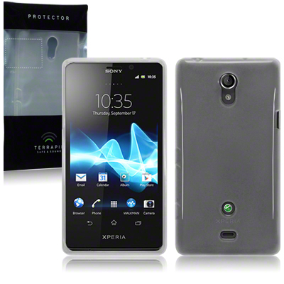 Back Cover Xperia T Frosted White