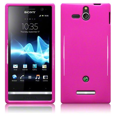 Back Cover Xperia U Solid Pink