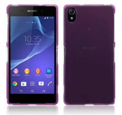 Back Cover Xperia Z5 PREMIUM Plum