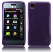 GD510 POP Back Cover Gel Purple + Displayskydd