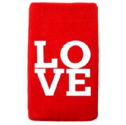 Mobilsocka LOVE Red