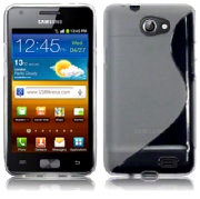 Back Cover i9103 Galaxy Z Style Clear