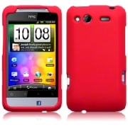 Silikonskydd HTC Salsa Pure Red