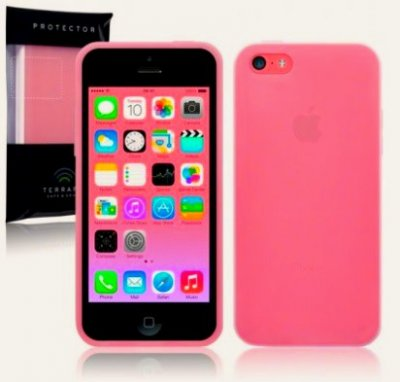 mobilskal iphone 5c smooth rosa
