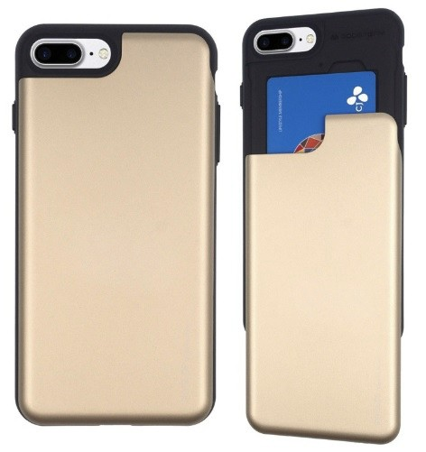 View fodral till iPhone 7 4,7tum Guld